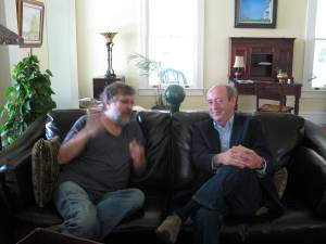 Slavoj Zizek & Billy Collins